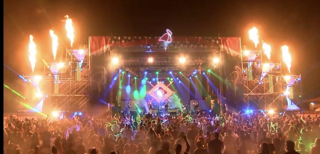 Portable stage rental Miami